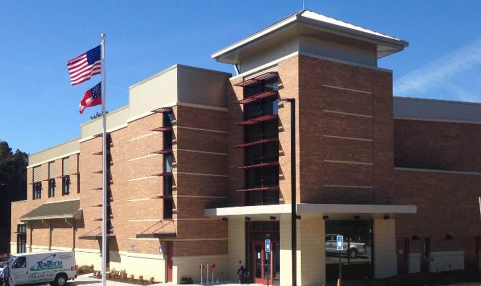 Gwinnett Fire Training Academy   Dacula, GA   Cooper & Company General Contractors