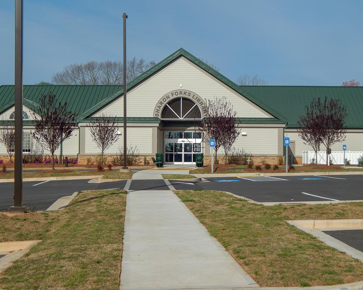 Sharon Forks Library Renovation | Cumming, GA
