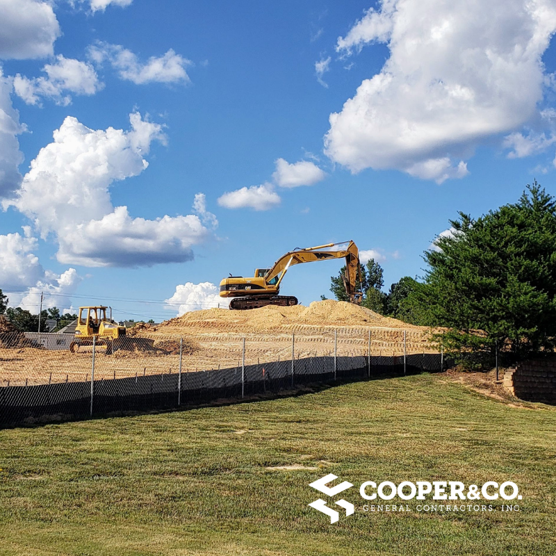 Construction Equipment for Bay Creek Police | Gwinnett County Government | Cooper & Company | Grayson, GA