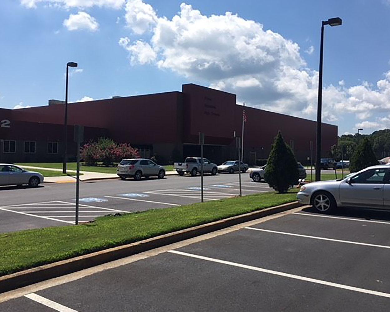 Stone Mountain Front Entrance | Dekalb County Schools | Cooper & Company