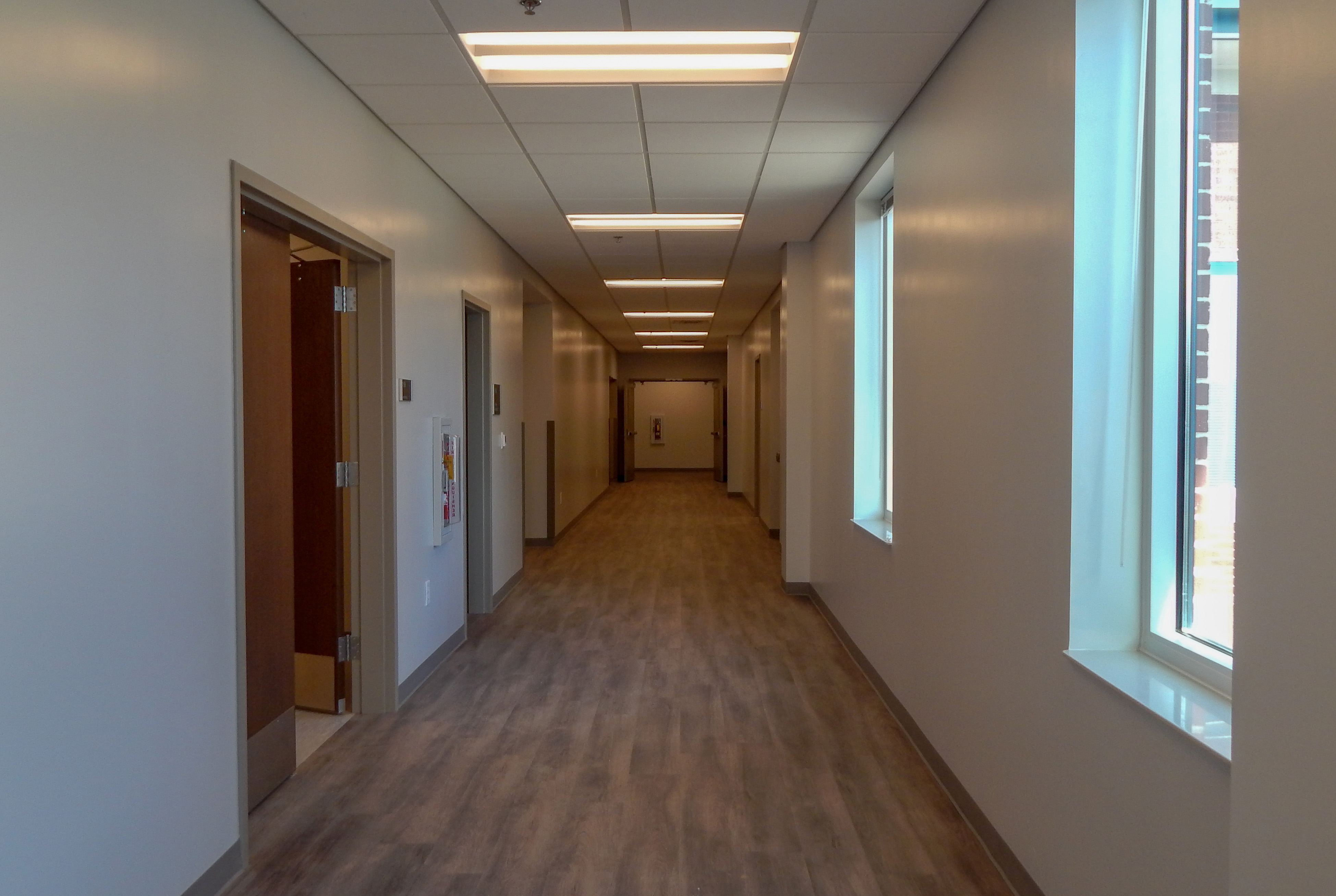 Exterior Hallways for GDOT District 6 Admin | Cooper & Company