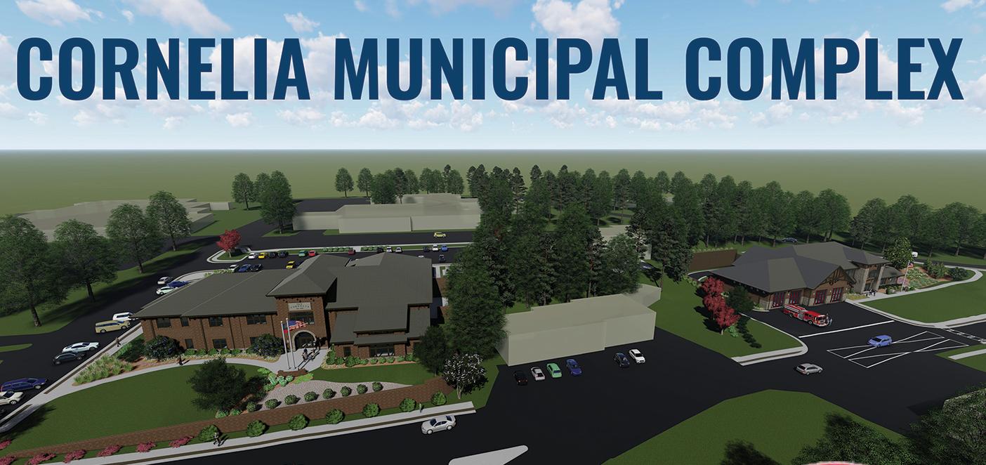City of Cornelia Municipal Complex Groundbreaking