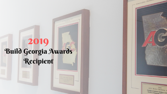Build Georgia Awards Wall | Cooper&Company