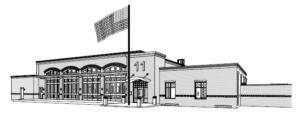 Forsyth County Fire Station #11 Rendering | Croft & Associates