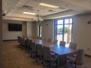 Interior Conference Room | Habersham County Administrative Building | Cooper & Company General Contractors