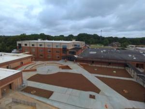 Lilburn Middle School Exterior   Cooper & Company