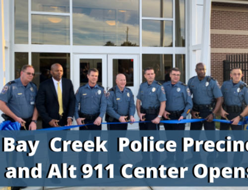 Bay Creek Police Precinct and Alternate 911 Center Opens