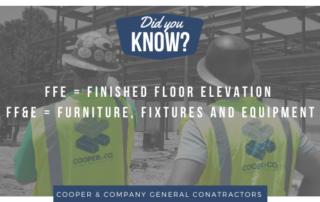 Cooper & Company | FFE vs FF&E