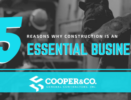 5 REASONS WHY CONSTRUCTION IS AN ESSENTIAL BUSINESS